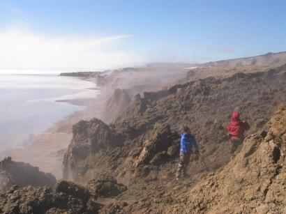 Исследование береговых обрывов