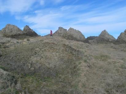 Остров Большой Ляховский, южный берег. Байджарахи